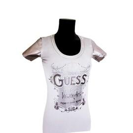 Superbe T-Shirt Guess Femme Manches Courtes Nouvelle Collection