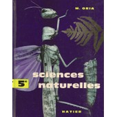 Sciences Naturelle Classe De 5e de M. ORIA