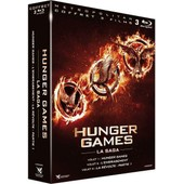 Hunger Games + Hunger Games 2 : L'embrasement + Hunger Games - La R�volte : Partie 1 - Blu-Ray de Ross Gary