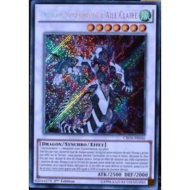 Carte Yu-Gi-Oh Cros-Fr046 Dragon Synchro De L'aile Claire Neuf Fr