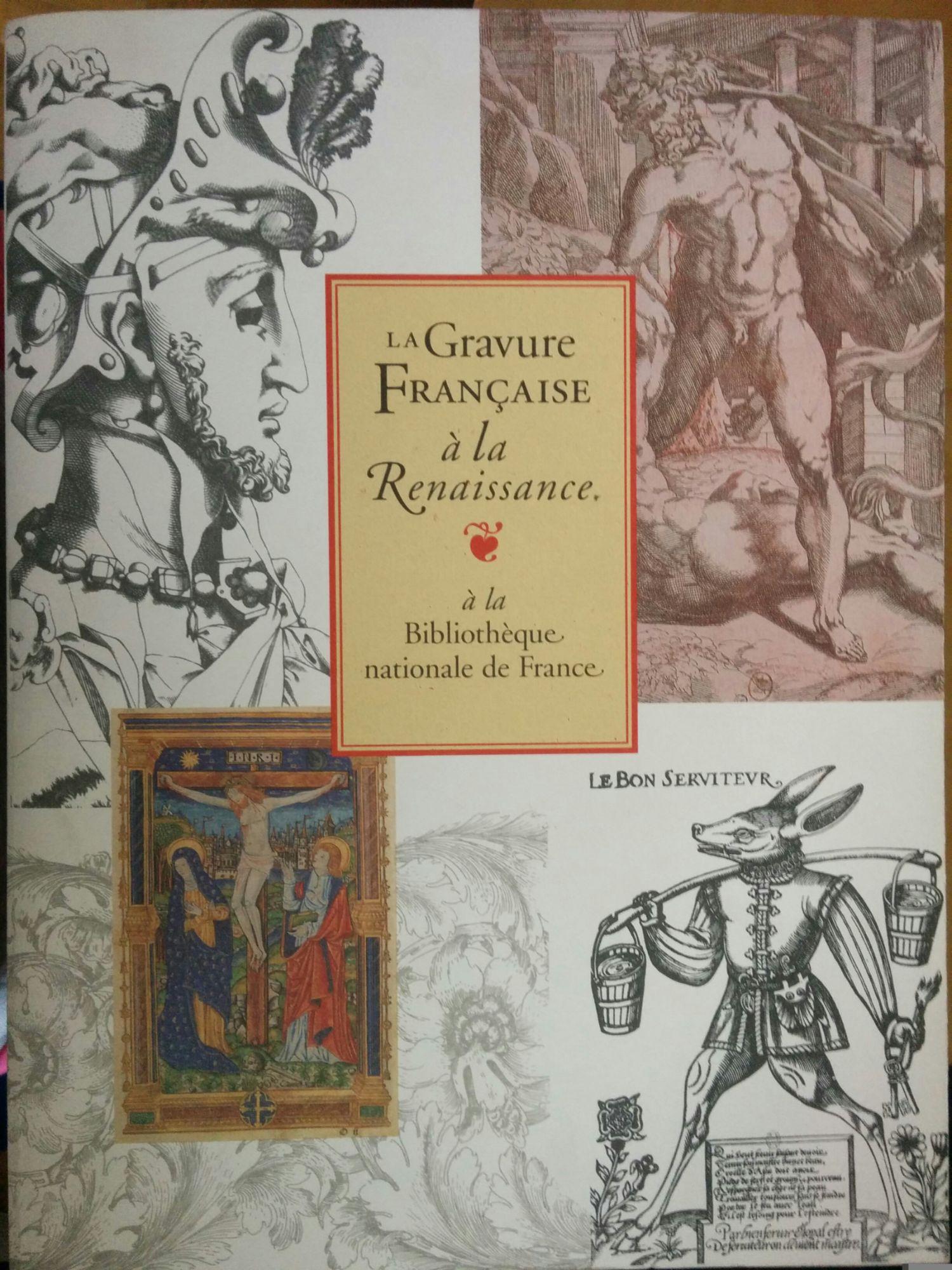 Gravure française a la renaissance(la)