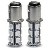 2 X 1157 5050 Smd 18 Led Ampoule Lampe Lumi�re Rouge 3.5w Frein Stop Voiture
