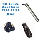 Sonde Pool-Terre - Aqua-Terre Kit Complet 50mm