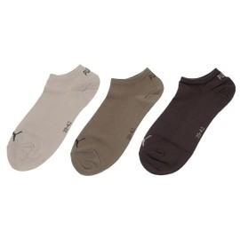 Chaussettes Invisibles Puma Thin Cho/Kki/Bge Tripack Marron 22401