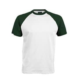 T-Shirt Bicolore Base Ball Kariban