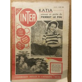 Inter 147 (Georges Guetar, Simone Renant, Cinema, Tarzan, Weissmuller)