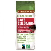 Ethiquable - Caf� Colombie Moulu Bio & �quitable 250 G - 100% Arabica