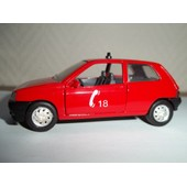Voiture Miniature Renault Clio Pompier