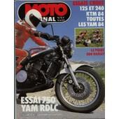 Moto Journal 625 Essais Cross 125 Et 240 Ktm 84 Toutes Les Yam 84 Le Point Sur Harley