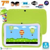 Tablette tactile enfant �ducative 7 pouces Android 4.2.2 vert 8Go