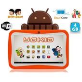 Tablette tactile enfant 7 pouces �ducative android 4.4 Orange