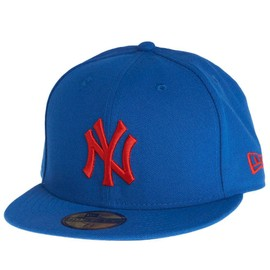New Era Casquette - Basic New York Yankees Marine / Rouge