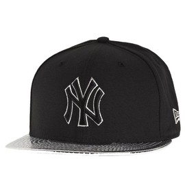 New Era 59fifty Casquette - Metallic New York Yankees Noir