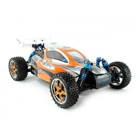 Rc Buggy Radiocommand� Booster Pro - Voiture �lectrique Brushless Rc 1/10�me 2,4ghz Rtr Tout Terrain