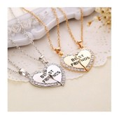 Double Collier Best Friends Strass Mes Envies Fantaisie