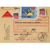 Mandat -Carte 1418- Timbr�s -Retour A L'envoyeur