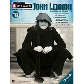 Jazz Play-Along Volume 189 JOHN LENNON