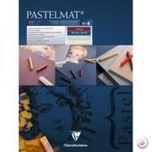 Bloc Pastelmat 12feuilles, 40x30cm,4 Teintes - Clairefontaine