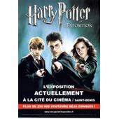 Carte Postale Harry Potter Expositioncite Du Cinema