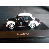 Renault 4cv Pie Collection Police Cars Atlas