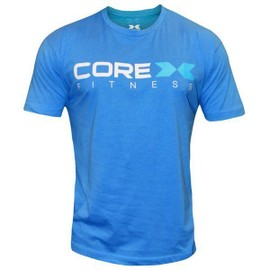 T-Shirt Corex Fitness Musculation Bleu