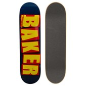 Skateboard Planche Seule Us Brand Logo Nvy Ylw - Taille 7.8