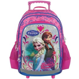 Disney Sac � Dos Scolaire Roulettes Trolley Frozen - La Reine Des Neiges - Super Qualit�