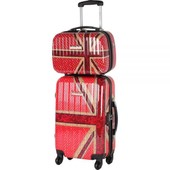 Valise Cabine 4 Roues + Beauty Case Lollipops Bagage Polycarbonate