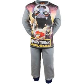 Pyjama Angry Birds Gar�on - Bleu - 8 Ans