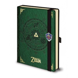 Legend Of Zelda - Carnet De Notes Premium A5 Triforce