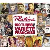 Platine - Les 100 Hits De La Variete Fran�aise - Collectif