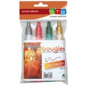Crayon De Cire Liquide Pour Bougie - 4 Pi�ces - Dtm