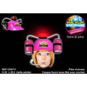 Casque Anti Soif Gyrophare Miss Apero