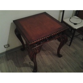 table basse marron page 3 achat vente neuf d. Black Bedroom Furniture Sets. Home Design Ideas