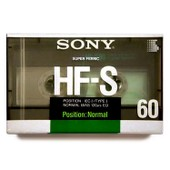 Sony HF-S60 Crystal Gamma, 60 minutes