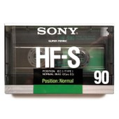 Sony HF-S90 Crystal Gamma, 90 minutes