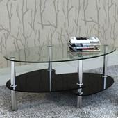 Vidaxl Table De Salon / Basse Noire Barcelone