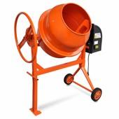 Vidaxl B�tonni�re �lectrique En Acier 140 L 650 W Orange