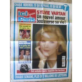SYLVIE VARTAN JOE DASSIN AFFICHE PUBLICITAIRE ICI PARIS