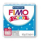 P�te Fimo Kids 42 G - Bleu Paillet� - 8030.312 - Fimo