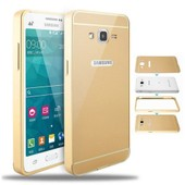 Galaxy Grand Prime Samsung Bumper Etui Cover Housse Etui Or