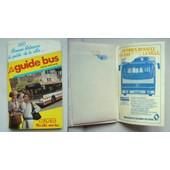Horaires Des Bus Besan�on 1984 Avec Publicit� Renault .V.I. Bus Pr100
