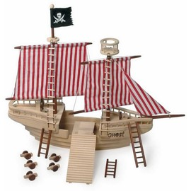 Bateau De Pirates En Bois Ridy