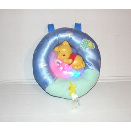 Winnie L'ourson Veilleuse Musical Avec Effet Lumineux � Accrocher Fisher Price 2002
