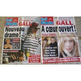 FRANCE GALL 2 AFFICHES PUBLICITAIRES ICI PARIS