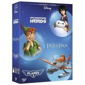Les Nouveaux H�ros + Peter Pan + Planes 2 - Pack de Don Hall