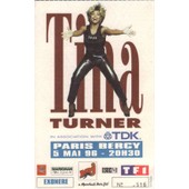 Ticket Billet Place Concert Used Tina Turner 1996 Paris Bercy