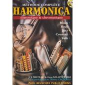 Milteau : M�thode Compl�te Harmonica Diatonique Et Chromatique