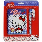 Journal Hello Kitty Intime Avec Stylo Fille