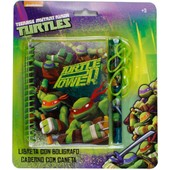 Tortues Ninja Journal Intime Avec Stylo Gar�on